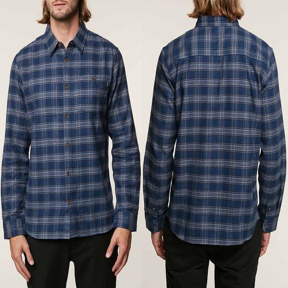 O'Neill Other - O'neill Redmond Plaid Button Down Flannel Shirt